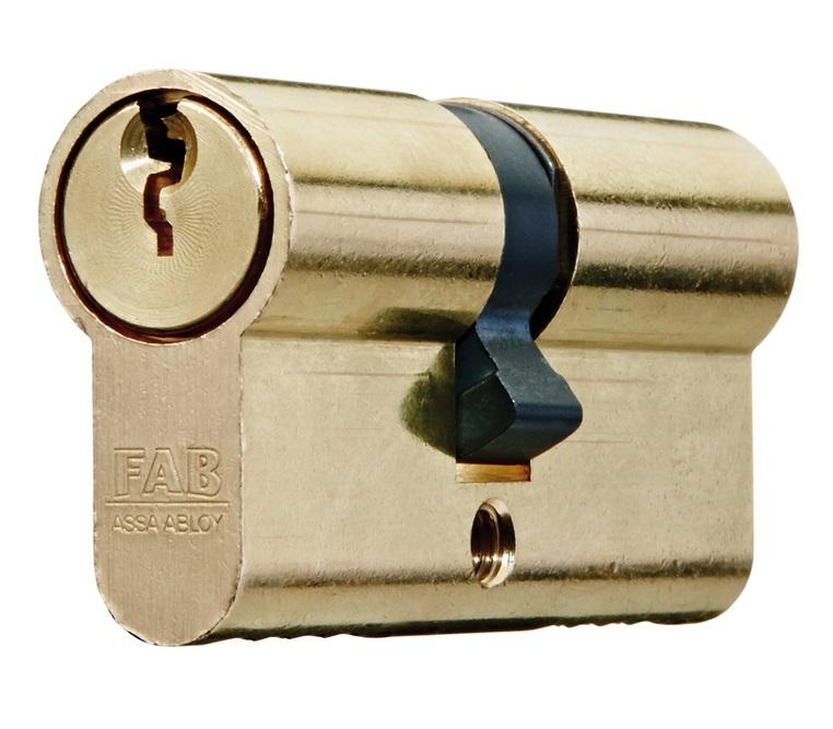 Bezpečnostní vložka Fab - 2000RSD 29x35 5kl.